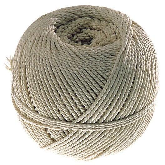 Cordeau coton câblé, 25 m /diam. 2.5 mm NESPOLI