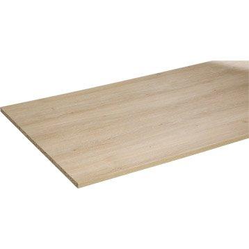 tablette agglom r m lamin spaceo ch ne 250x65cm p 18mm. Black Bedroom Furniture Sets. Home Design Ideas