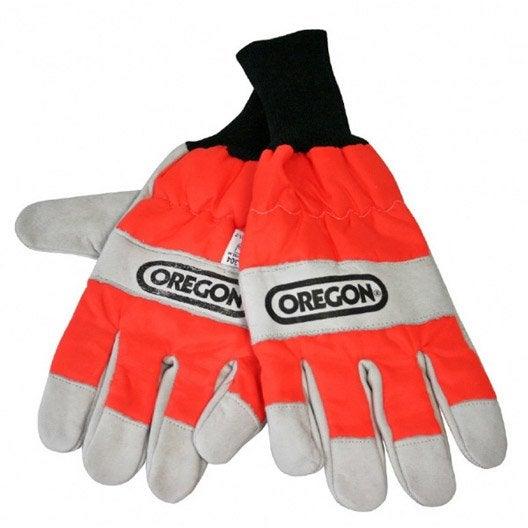 gants sp cial tron onneuse oregon orange taille 9 l leroy merlin. Black Bedroom Furniture Sets. Home Design Ideas