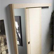 Rail coulissant et habillage Jazz ARTENS, pour porte de largeur 93 cm maximum