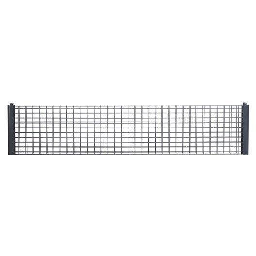 gabion gris anthracite h 0 4 x l m leroy merlin. Black Bedroom Furniture Sets. Home Design Ideas