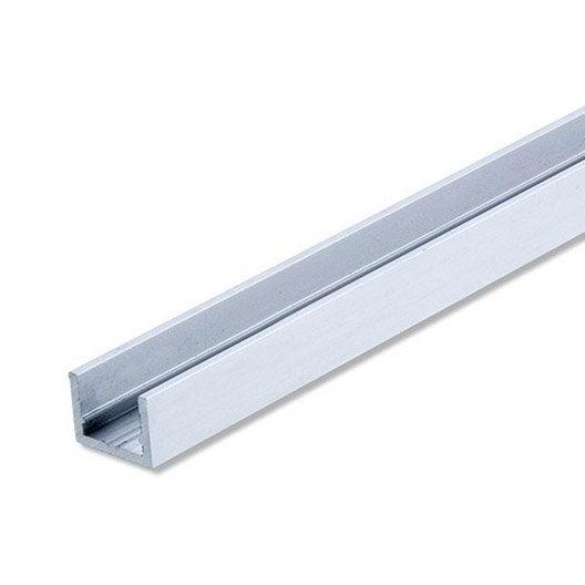 U rectangulaire aluminium anodis l 2 m x l cm x h 2 - Corniere alu leroy merlin ...