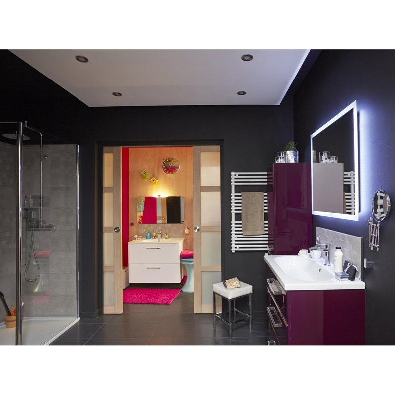 paroi de douche l 39 italienne cm verre transparent 6 mm entra support mura leroy merlin. Black Bedroom Furniture Sets. Home Design Ideas