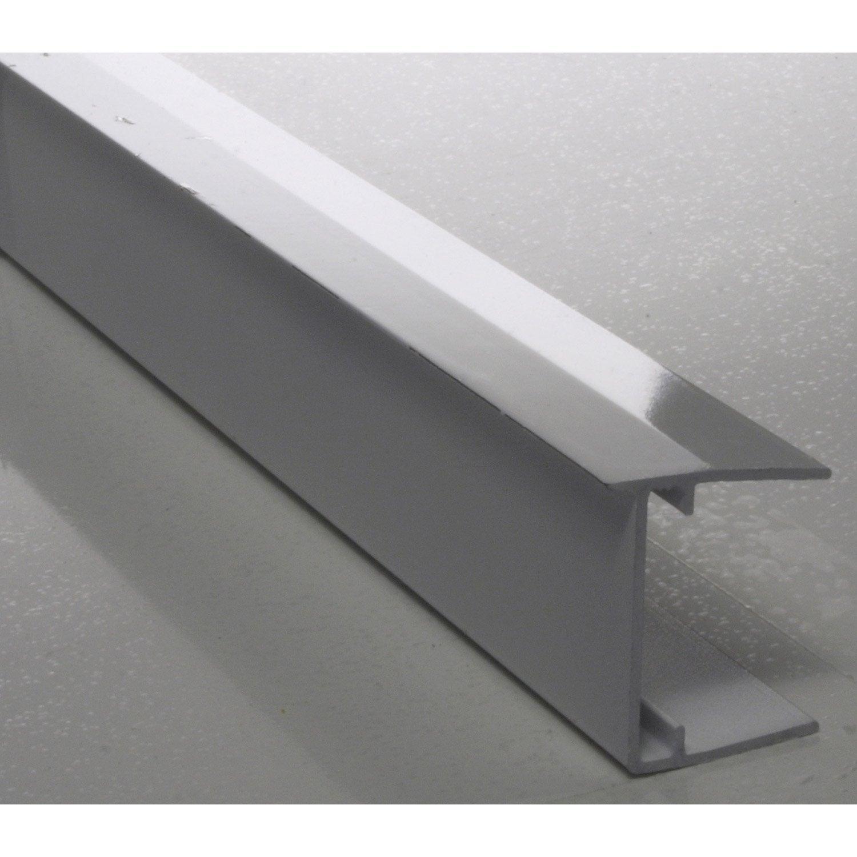 Profil Obturateur Pour Plaque Ep 16 Mm Blanc Laqué L1 M