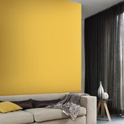 Papier peint intissé Paillette jaune serin n°4