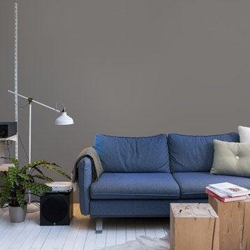 Papier peint intissé Paillette gris-gris n°3