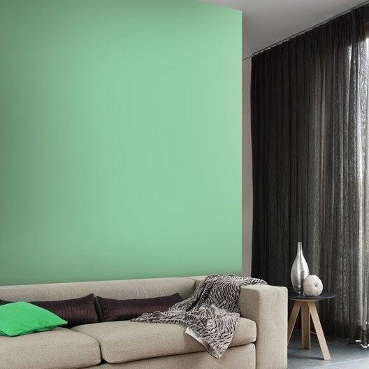 Papier peint intissé Paillette vert