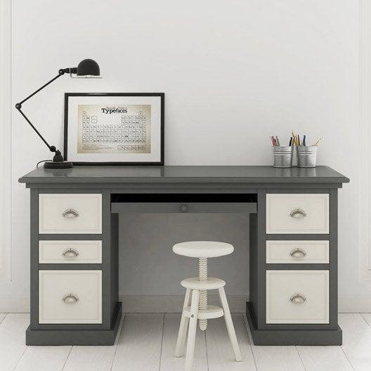 peinture effet satin maison deco relook meuble gris 0 5 l leroy merlin. Black Bedroom Furniture Sets. Home Design Ideas