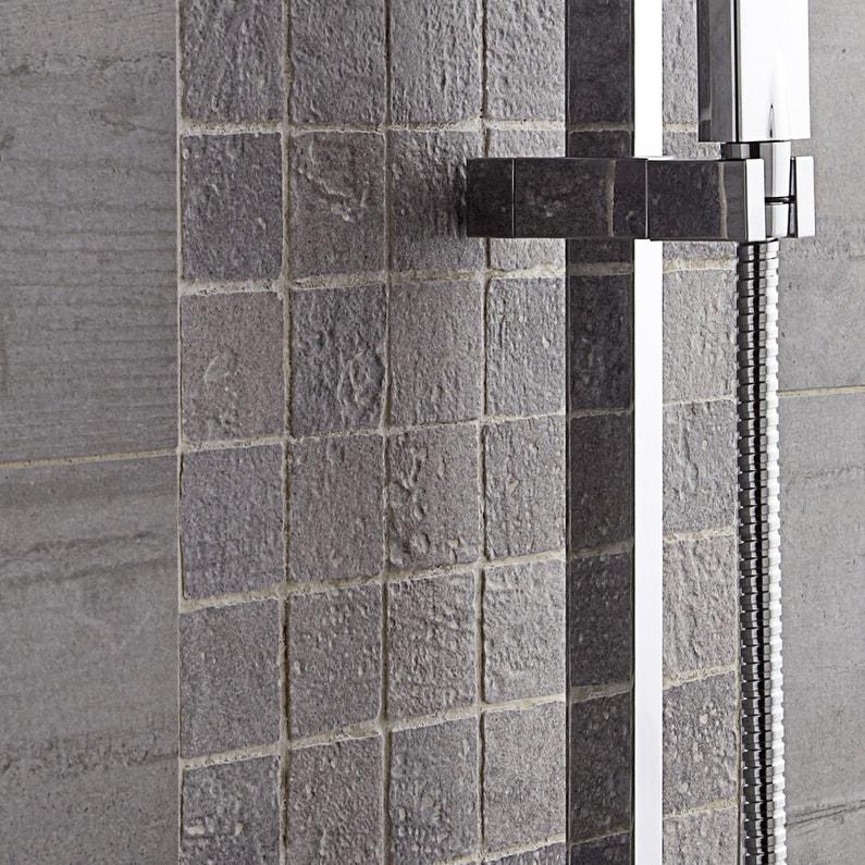 Mosaique Sol Et Mur Vestige Gris 5 X 5 Cm Leroy Merlin