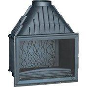Foyer à bois façade droite INVICTA 6270-44 14 kW