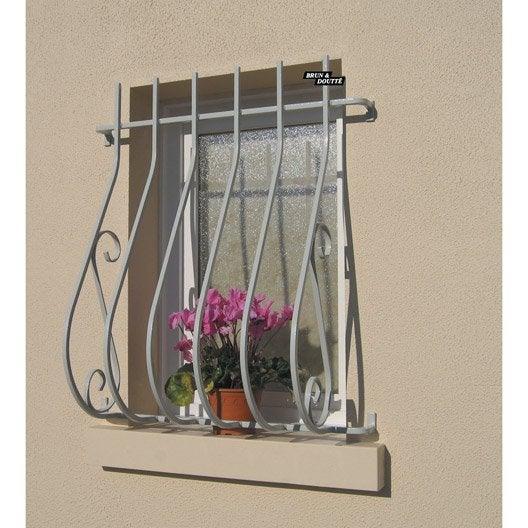 grille de d fense pour fen tre garonne x cm. Black Bedroom Furniture Sets. Home Design Ideas