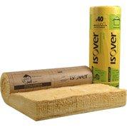 Rouleau de laine de verre, Ibr 40 Kraft ISOVER 3x1.2m, ep.260mm