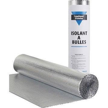 Rouleau films thermo-réflecteurs isolant mince bulle XL MAT 12.5 x 1.2cm, Ep.3mm