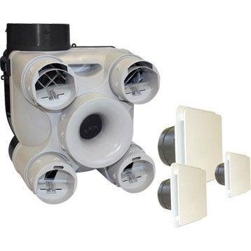 Kit VMC simple flux auto-réglable Design S&P