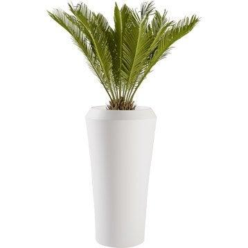 Pot de fleurs jardini re poterie xxl cache pot bac soucoupe d coration jardin leroy - Pot de fleur xxl ...