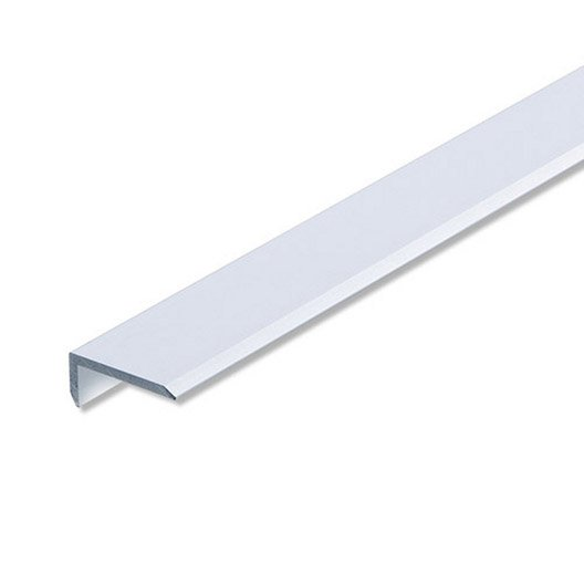 corni re in gale aluminium anodis l 1 m x l cm x h cm leroy merlin. Black Bedroom Furniture Sets. Home Design Ideas