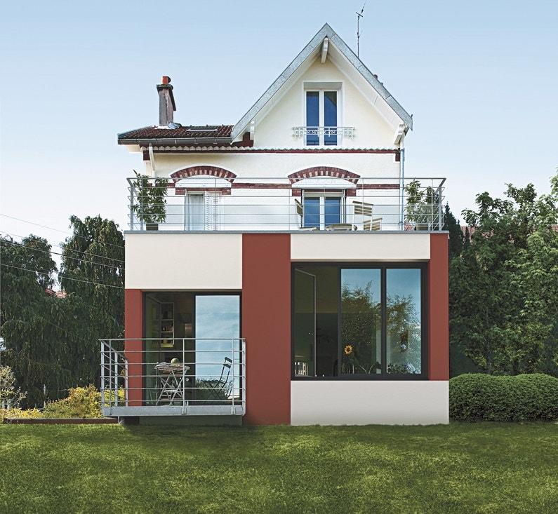 une maison avec des garde corps s curis leroy merlin. Black Bedroom Furniture Sets. Home Design Ideas