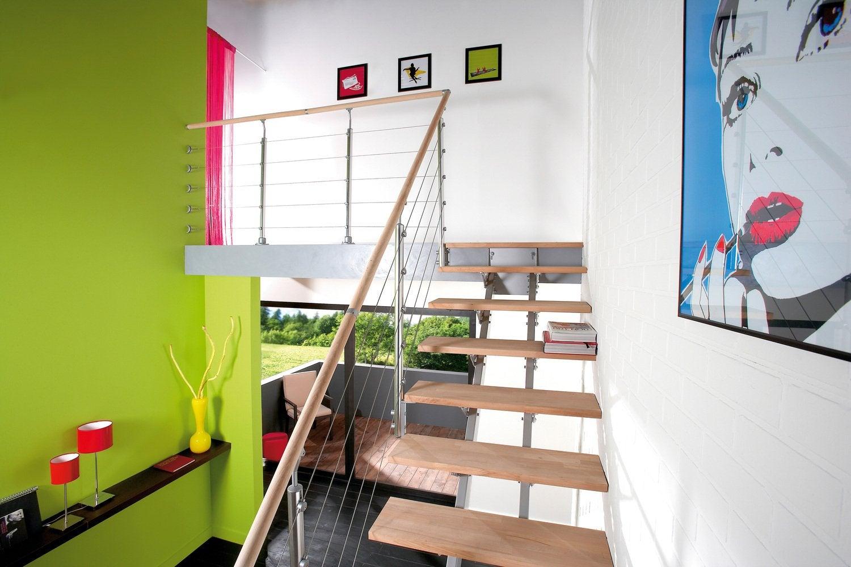 mezzanine la pi ce en plus port e de main leroy merlin. Black Bedroom Furniture Sets. Home Design Ideas