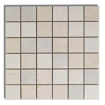 Mosa que premium mix beige blanc et gris 5x5 cm for Carrelage 5x5 blanc
