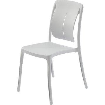 Chaise et fauteuil de jardin salon de jardin table et - Chaise de jardin pvc ...
