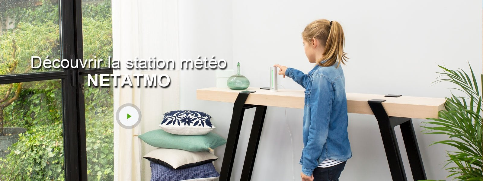 station m t o connect e netatmo leroy merlin. Black Bedroom Furniture Sets. Home Design Ideas