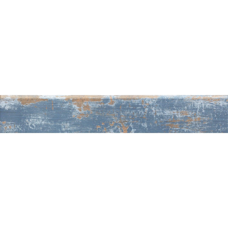 Lot De Plinthes Cuba Bleu L X L Cm Leroy Merlin - Plinthe carrelage et tapis de bain bleu lagon