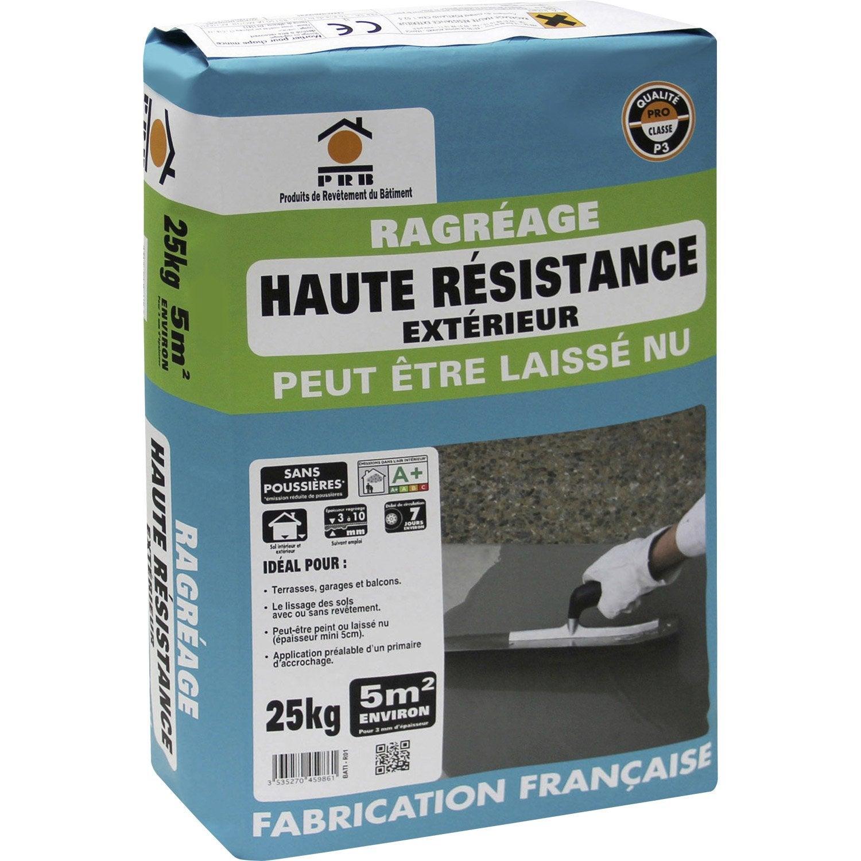 Ragr age sol ext rieur prb 25 kg leroy merlin - Ragreage exterieur fibre ...
