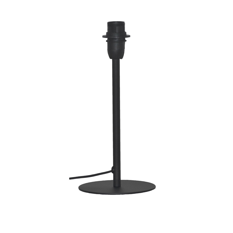 Pied De Lampe Ceres Metal Noir Mat 26 Cm Inspire Pied De Lampe