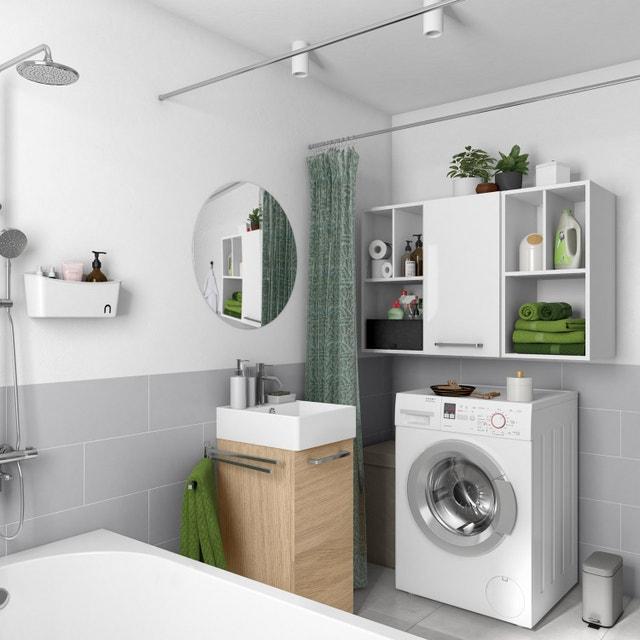 une salle de bains optimis e dans 6m leroy merlin. Black Bedroom Furniture Sets. Home Design Ideas