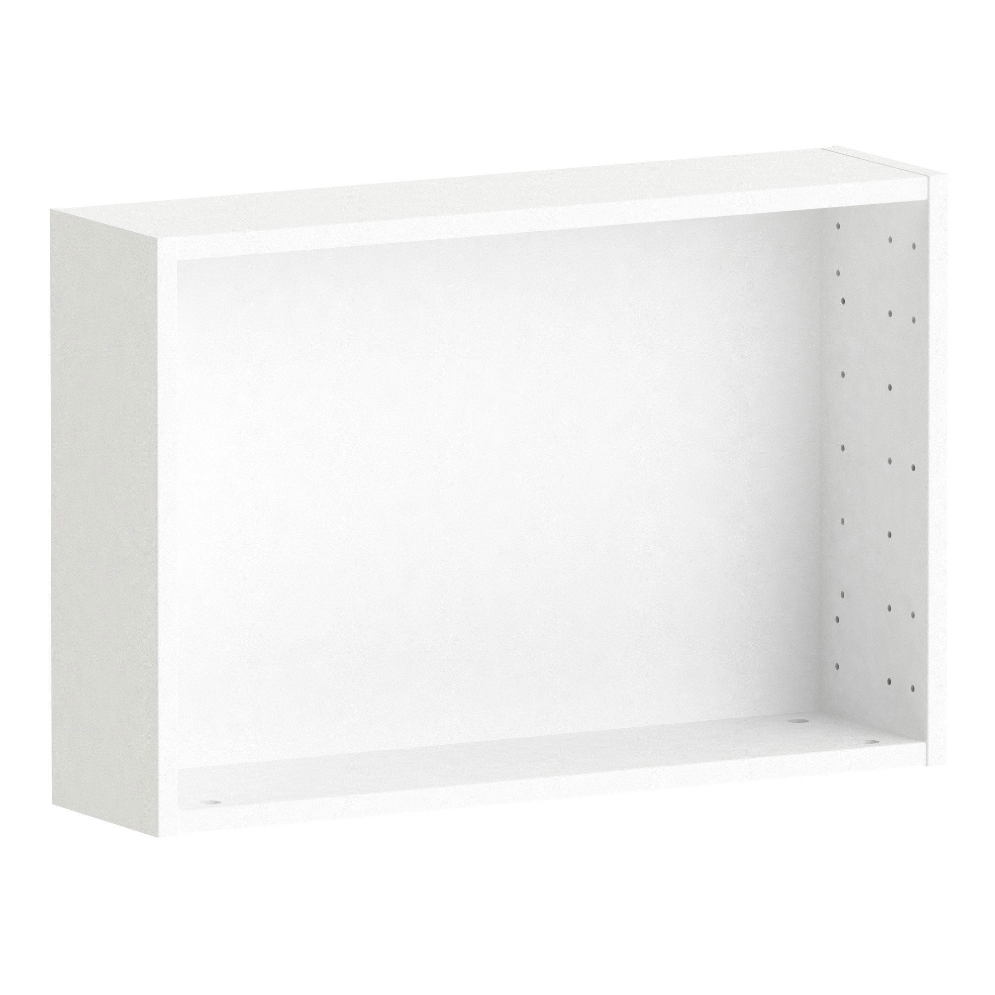 Caisson SPACEO Home, blanc H.40 x l.60 x P.15 cm