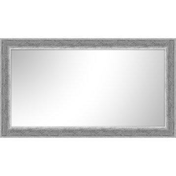 Miroir Creux, argent, l.60 x H.120 cm