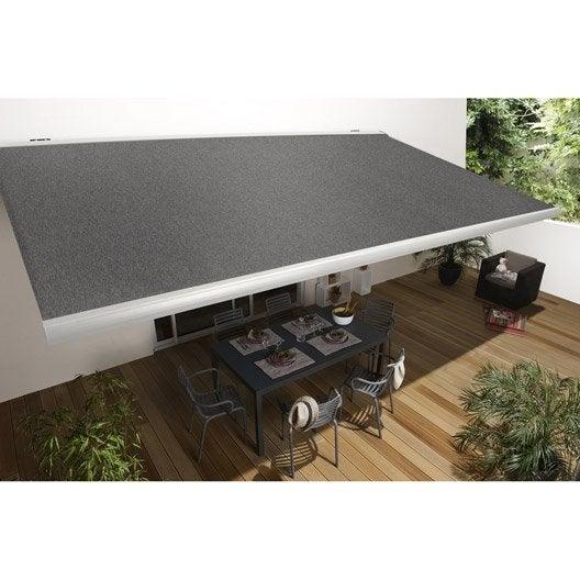 store banne gold coffre int gral aluminium larg 6 m x avanc e leroy merlin. Black Bedroom Furniture Sets. Home Design Ideas