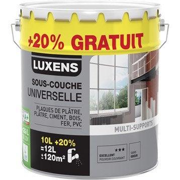 Sous-couche universelle LUXENS, 10 L + 20% gratuit