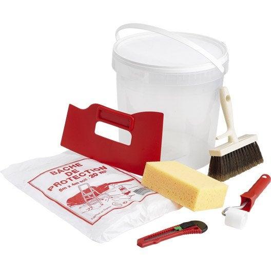 kit d 39 outils du tapissier outillage du tapissier leroy merlin. Black Bedroom Furniture Sets. Home Design Ideas