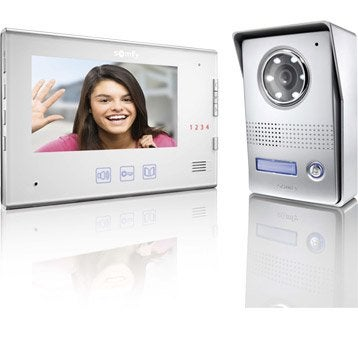 Interphone visiophone SOMFY V400 blanc