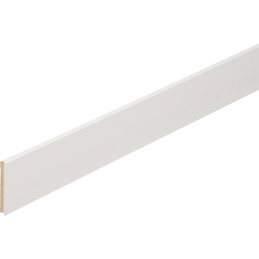 plinthe m dium mdf droite rev tu m lamin blanc brillant 10 x 70 mm l 2 2 m leroy merlin. Black Bedroom Furniture Sets. Home Design Ideas