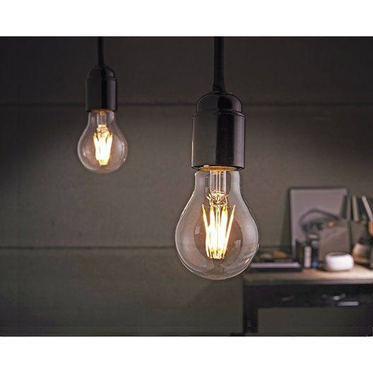 Lot de 2 ampoules standard led 7w lexman e27 lumi re - Ampoule lumiere noire leroy merlin ...
