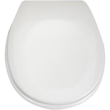 abattant wc sensea sparta blanc blanc n 0. Black Bedroom Furniture Sets. Home Design Ideas