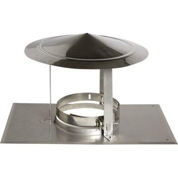 Chapeau pare-pluie simple ATELIER DIXNEUF 126 mm