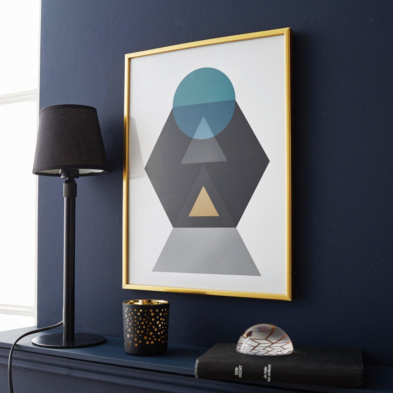 donnez vie vos murs avec une affiche art d co sous cadre leroy merlin. Black Bedroom Furniture Sets. Home Design Ideas