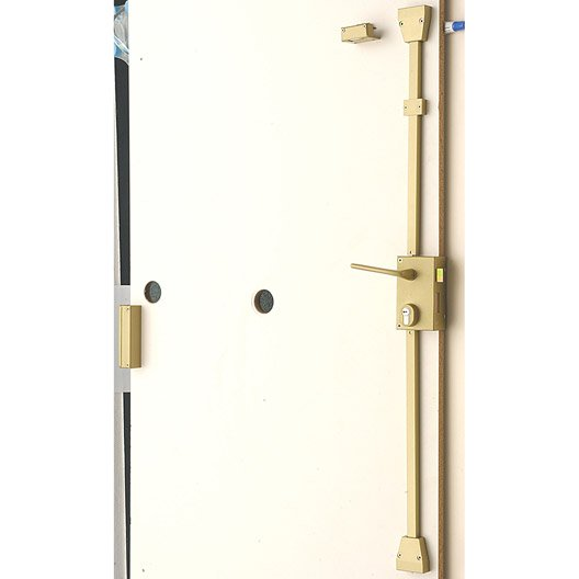 Serrure multipoint en applique serrure et cylindre de for Porte 3 points leroy merlin
