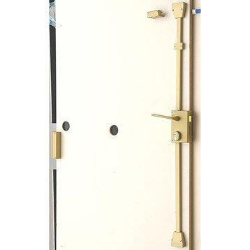 serrure et cylindre de serrure serrure 3 points barillet leroy merlin. Black Bedroom Furniture Sets. Home Design Ideas