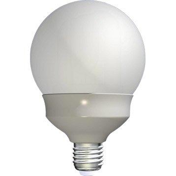 ampoule globe conomie d 39 nergie 23w lexman e27 lumi re du jour env 6500k. Black Bedroom Furniture Sets. Home Design Ideas