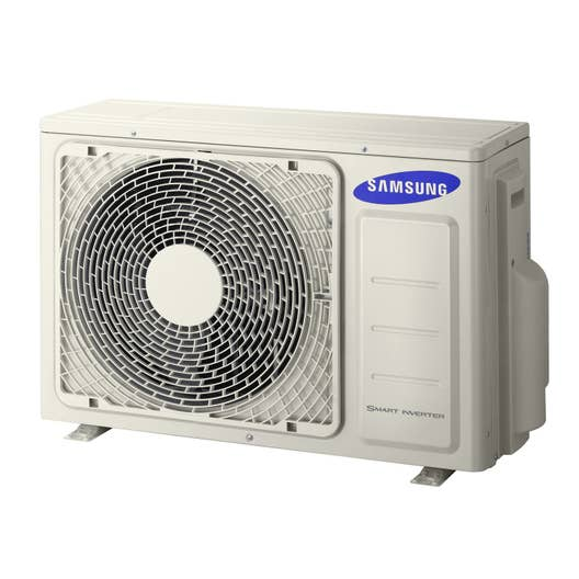 pompe chaleur air air unit ext rieure multisplit samsung 5000w leroy merlin. Black Bedroom Furniture Sets. Home Design Ideas
