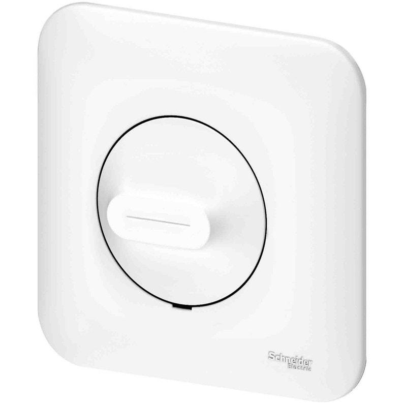 Variateur Ovalis Blanc Schneider Electric