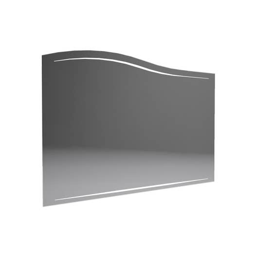 Miroir avec éclairage intégré l. 100 cm, DECOTEC Elegance | Leroy Merlin