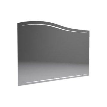 Miroir avec éclairage intégré l.100.0 cm, DECOTEC Elegance