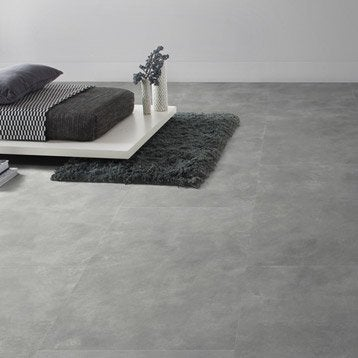 Dalle PVC clipsable industry dark GERFLOR Senso lock