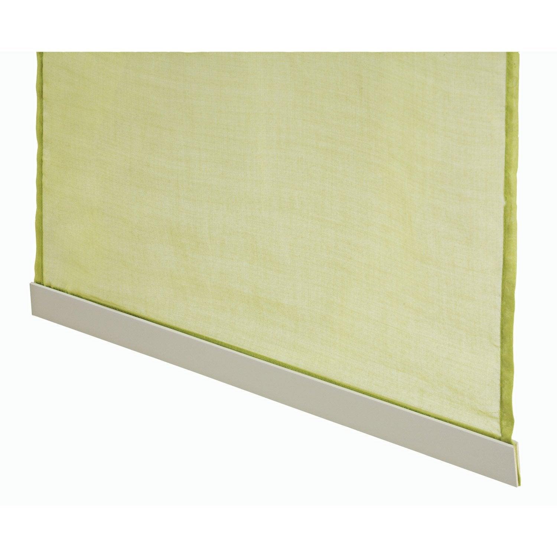 barre de lestage pour panneau japonais aluminium gris cm leroy merlin. Black Bedroom Furniture Sets. Home Design Ideas