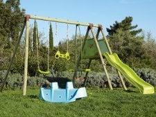 Tout savoir sur les jeux pour enfants leroy merlin for Balancoire pour petit jardin